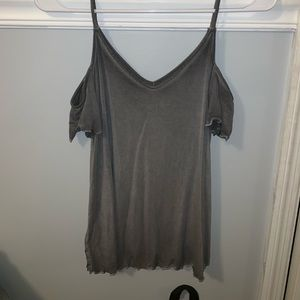 American Eagle Outfitters Tops - American eagle of the shoulder tank